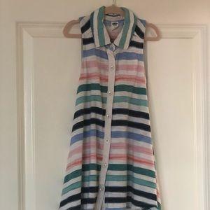 Girls Old Navy Sleeveless Striped Dress (4T)
